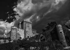 Castillo de Jarandilla de la Vera Imagen de archivo libre de regalías