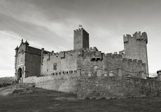 Castillo de Javier Foto de archivo