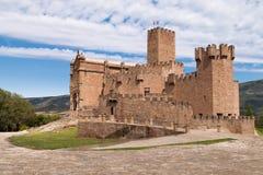 Castillo de Javier Foto de archivo libre de regalías