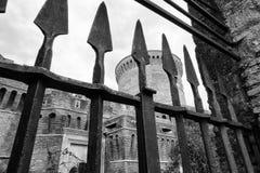 Castillo de Julio II en Ostia Antica Roma foto de archivo libre de regalías