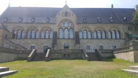 Castillo de Kaiserpfalz Goslar Harz Imagen de archivo
