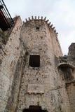 Castillo de Kamerlengo, Trogir, Croacia fotografía de archivo libre de regalías