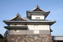 Castillo de Kanazawa Fotos de archivo libres de regalías