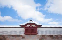 Castillo de Kanazawa fotos de archivo
