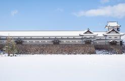 Castillo de Kanazawa imágenes de archivo libres de regalías