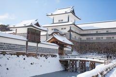 Castillo de Kanazawa imagenes de archivo