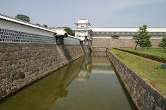 Castillo de Kanazawa en Ishikawa fotografía de archivo