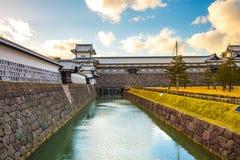 Castillo de Kanazawa en Kanazawa, Japón Fotografía de archivo