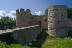 Castillo de Kaporie Fotos de archivo libres de regalías