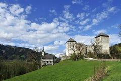 Castillo de Kaprun imagen de archivo libre de regalías