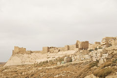 Castillo de Karak, Jordania Imagen de archivo libre de regalías