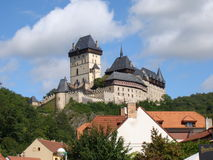 Castillo de Karlstein Imagenes de archivo