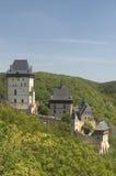Castillo de Karlstejn Imagen de archivo libre de regalías