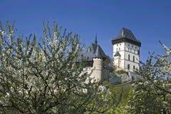 Castillo de Karlstejn Fotografía de archivo libre de regalías