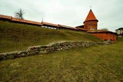 Castillo de Kaunas, Lituania Fotos de archivo libres de regalías