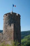 Castillo de Kaysersberg, Alsacia Imagen de archivo libre de regalías