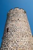 Castillo de Kaysersberg, Alsacia Imagen de archivo