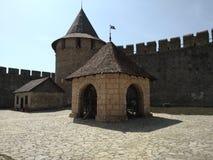 Castillo de Khotyn foto de archivo libre de regalías