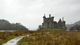 Castillo de Kilchurn Foto de archivo libre de regalías