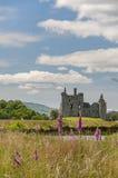 Castillo de Kilchurn en Escocia Fotografía de archivo