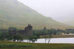 Castillo de Kilchurn, Escocia Imágenes de archivo libres de regalías