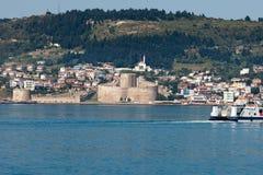 Castillo de Kilitbahir en Canakkale, Turquía. imagenes de archivo
