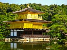 Castillo de Kinkakuji en Kyoto, Japón Foto de archivo libre de regalías