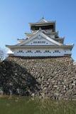 Castillo de Kokura Imágenes de archivo libres de regalías