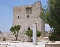 Castillo de Kolossi, Chipre Imágenes de archivo libres de regalías