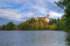 Castillo de Konopiste, República Checa - imagen del otoño Imagen de archivo libre de regalías