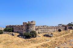 Castillo de Kos Imagen de archivo