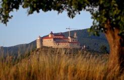 Castillo de Krasna Horka, Roznava Eslovaquia Fotografía de archivo