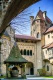 Castillo de Kreuzenstein en Austria Foto de archivo