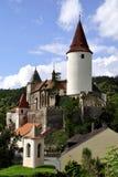 Castillo de Krivoklat foto de archivo libre de regalías
