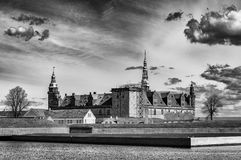 Castillo de Kronborg imágenes de archivo libres de regalías