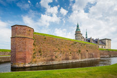 Castillo de Kronborg, Helsingor, Dinamarca fotografía de archivo libre de regalías