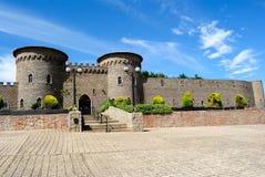 Castillo de Kryal, fuera de Ballarat, un estilo medieval Imagen de archivo libre de regalías