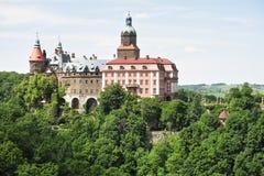 Castillo de Ksiaz Imagen de archivo libre de regalías