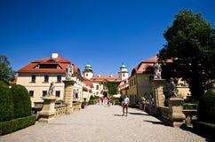 Castillo de Ksiaz, Polonia Fotos de archivo libres de regalías