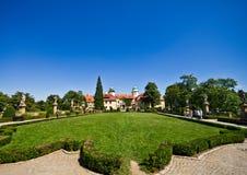 Castillo de Ksiaz, Polonia Foto de archivo libre de regalías