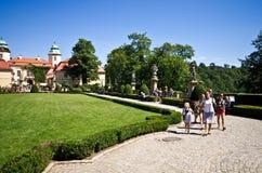 Castillo de Ksiaz, Polonia Imagen de archivo libre de regalías