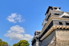 Castillo de Kumamoto Imagenes de archivo