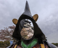 Castillo 3 de Kumamoto Fotos de archivo libres de regalías