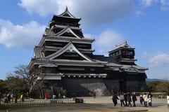 Castillo de Kumamoto Foto de archivo
