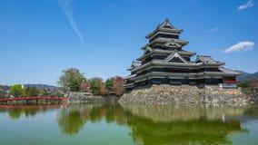 Castillo de Kumamoto en la ciudad de Kumamoto, prefectura de Nagano, Japón metrajes