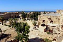 Castillo de Kyrenia en Chipre septentrional Imagenes de archivo