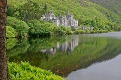 Castillo de la abadía de Kylemore Fotografía de archivo libre de regalías