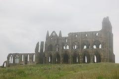 Castillo de la abadía de Whitby Imágenes de archivo libres de regalías