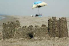 Castillo de la arena fotografía de archivo libre de regalías