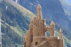 Castillo de la arena stock de ilustración